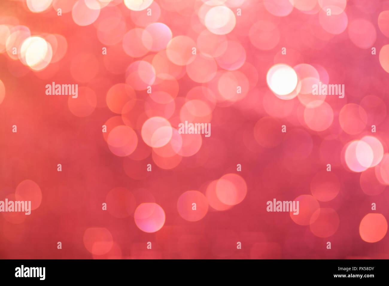 Vintage Bokeh Background Pink Retro Bokeh Fairy Defocused Backdrop