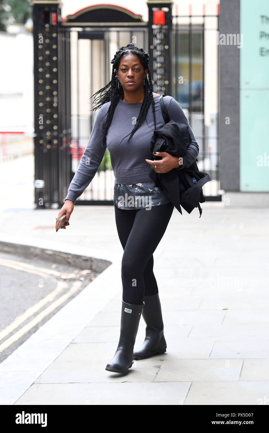 Ava Vidal Leaves The High Court In Central London Where She Lost A High Court Battle With Her Ex Partner Edgar Harrison Over The Final Resting Place Of