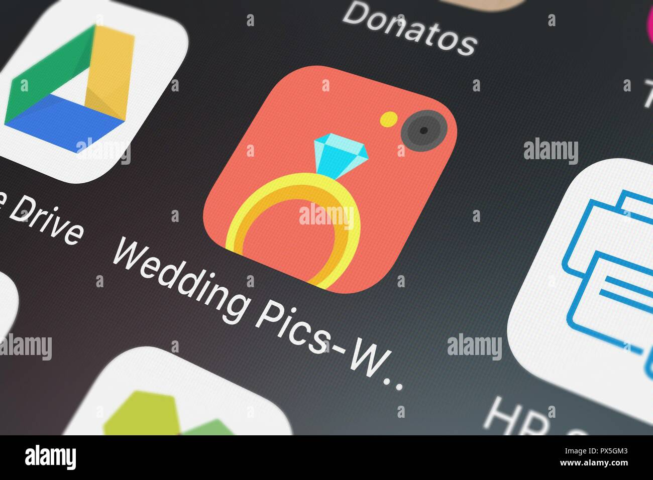 London United Kingdom October 19 2018 Screenshot Of The Wedding