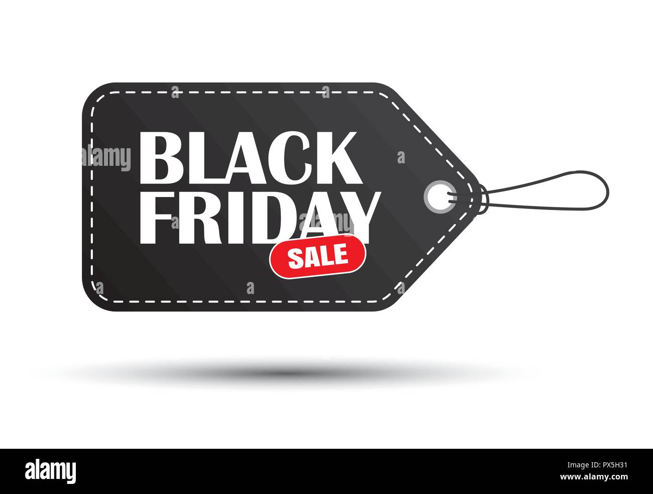 800f4fb235d Black friday sale black tag isolated on white background. Use for banner  template