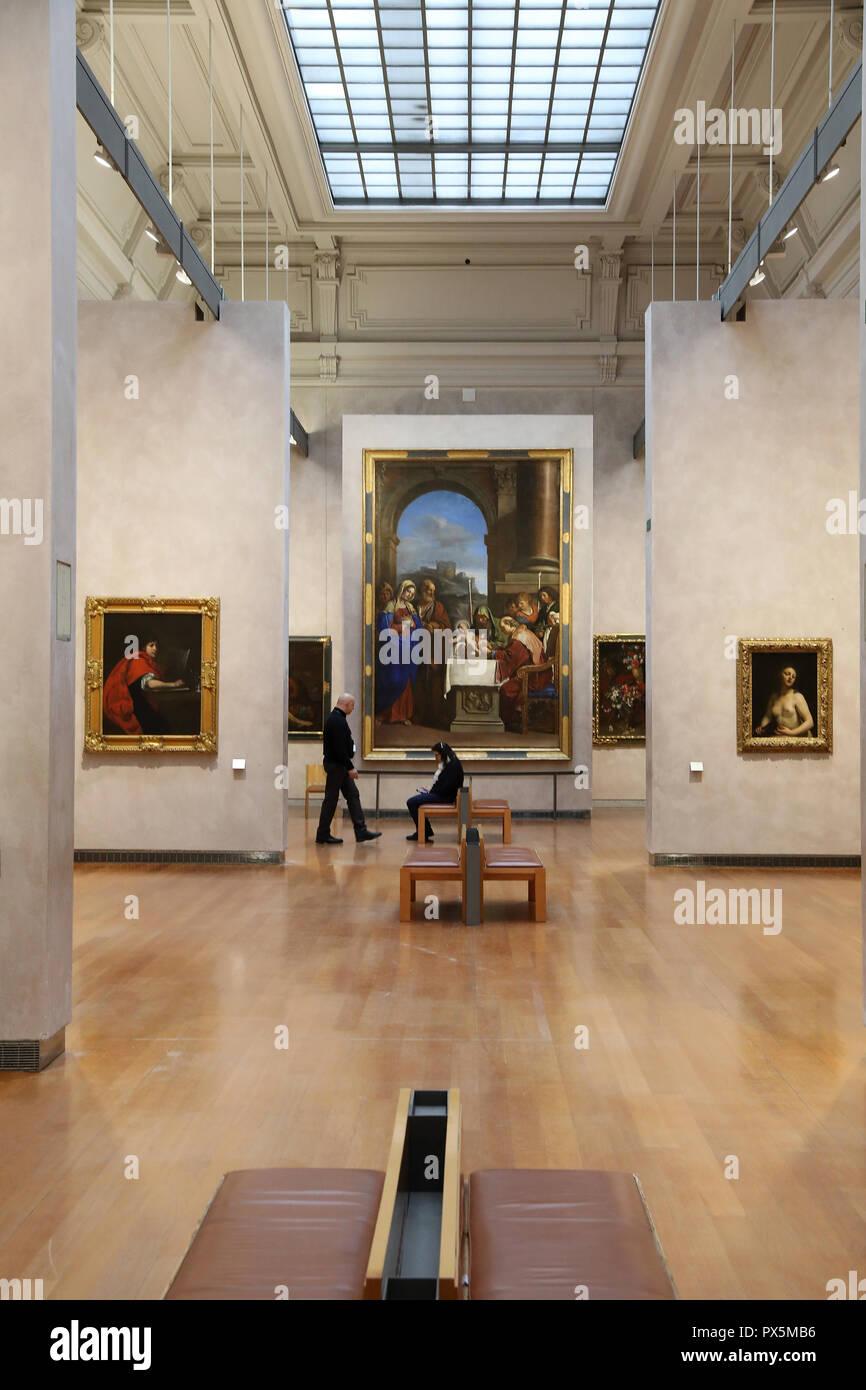 Fine Art museum, Lyon, France. Stock Photo