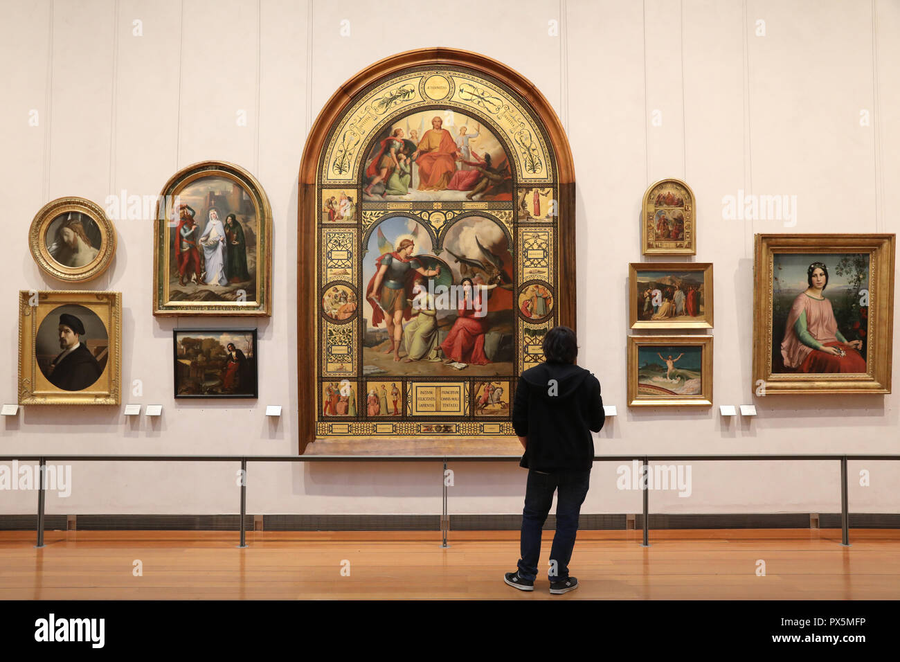 MusŽe des Beaux-Arts, Lyon, France. Fine Art museum, Lyon, France. Stock Photo