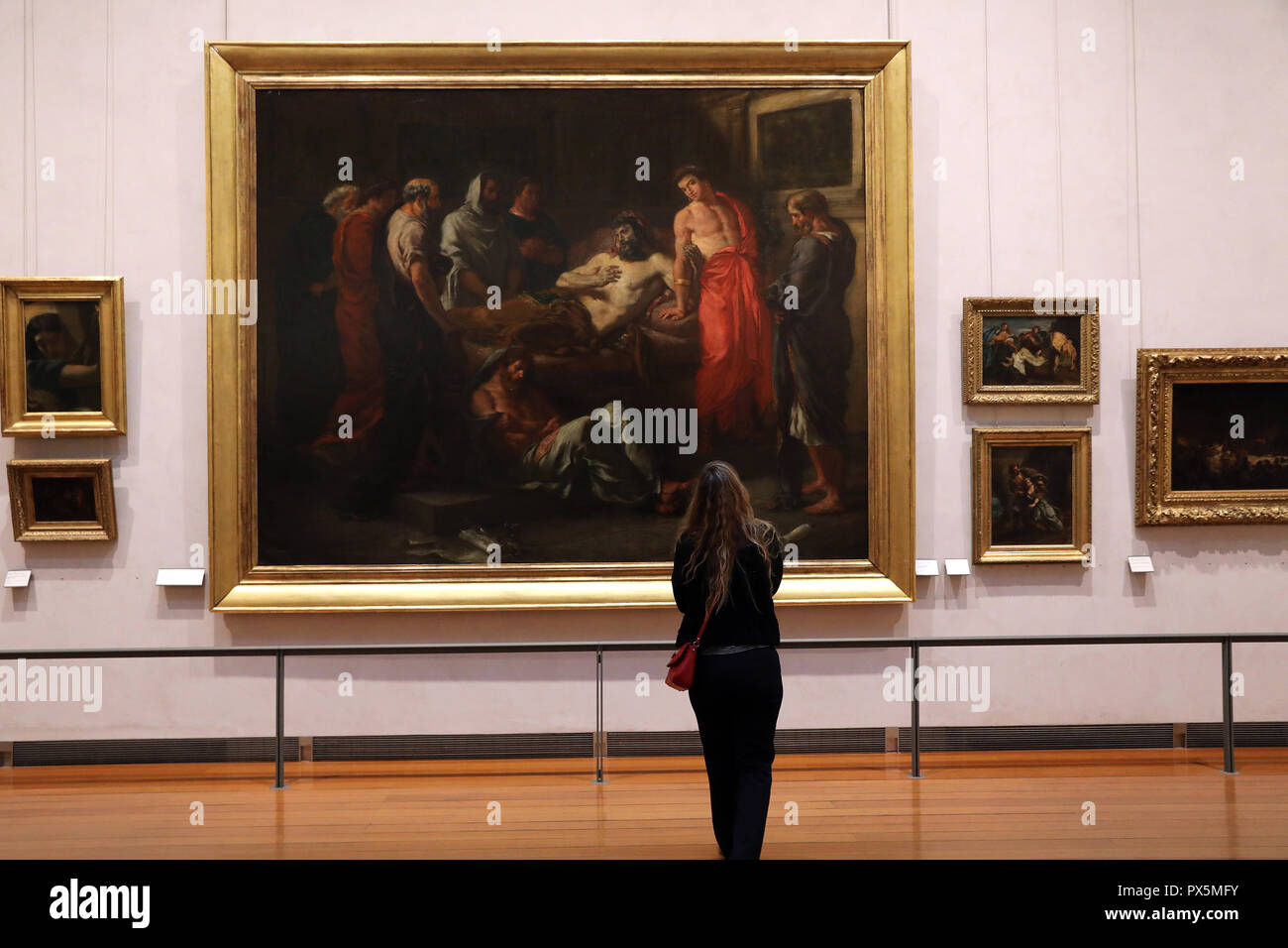 MusŽe des Beaux-Arts, Lyon, France. Fine Art museum, Lyon, France. Stock Photo