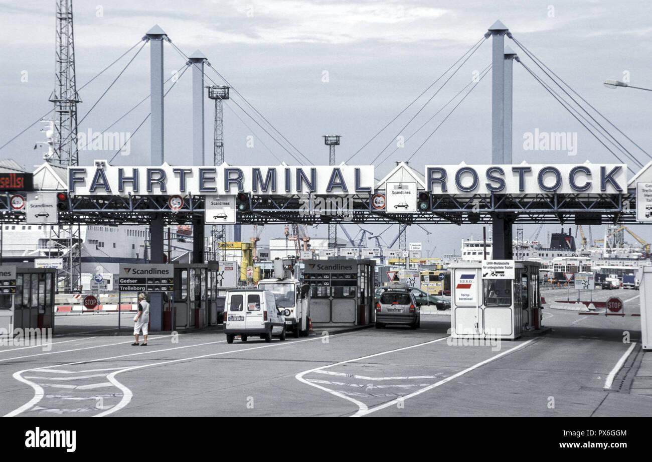 Rostock Ferry Terminal Stock Photos & Rostock Ferry Terminal Stock