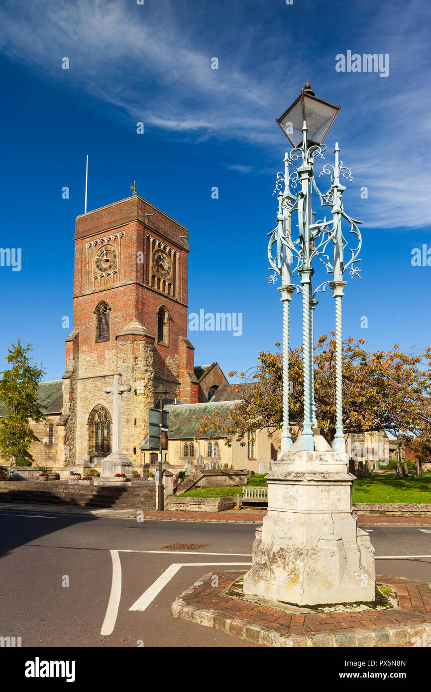Petworth lampstand - Stock Image