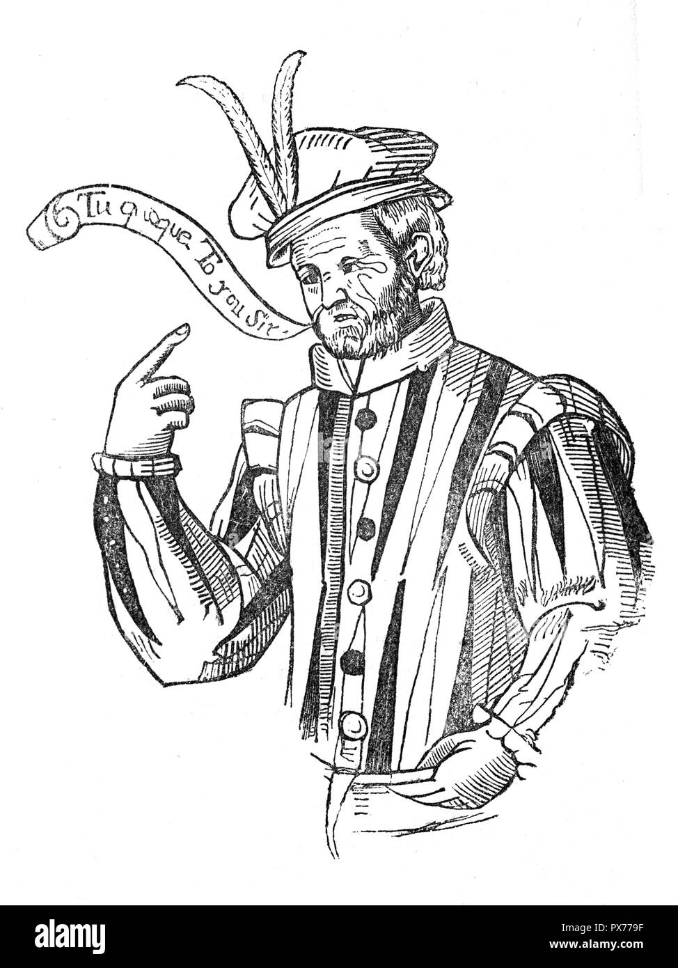 Robert Greene, (1558-1592, London), one of the most popular English prose writers of the later 16th century and Shakespeare's most successful predecessor in blank-verse romantic comedy. He was also one of the first professional writers and among the earliest English autobiographers - Stock Image