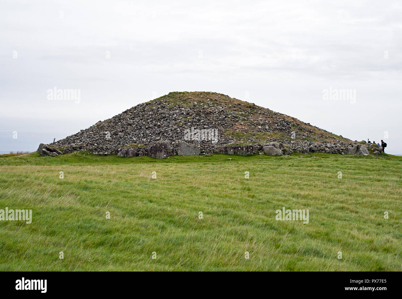 Loughcrew's Ancient Passage Tombs, Co Meath, Ireland Stock Photo