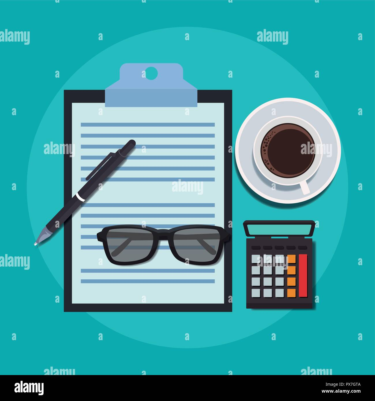 Office work concept - Stock Image