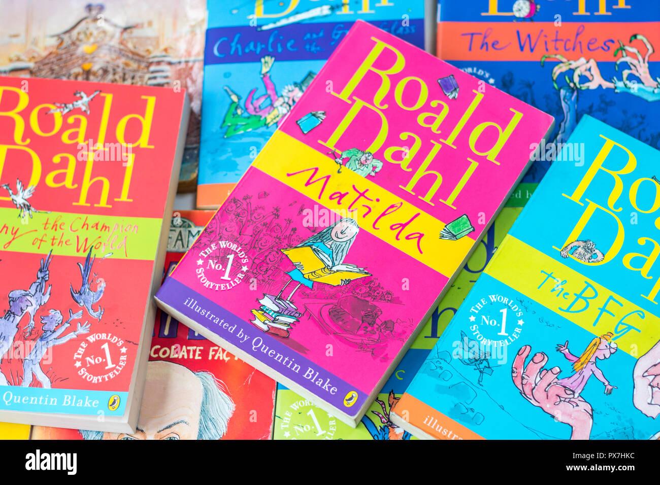Roald Dahl Matilda Stock Photos & Roald Dahl Matilda Stock
