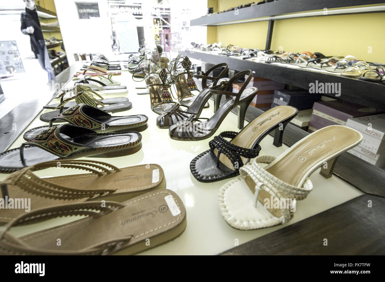 check out 16b2e 3e111 Shoe shop, Austria, Vienna Stock Photo: 222678397 - Alamy