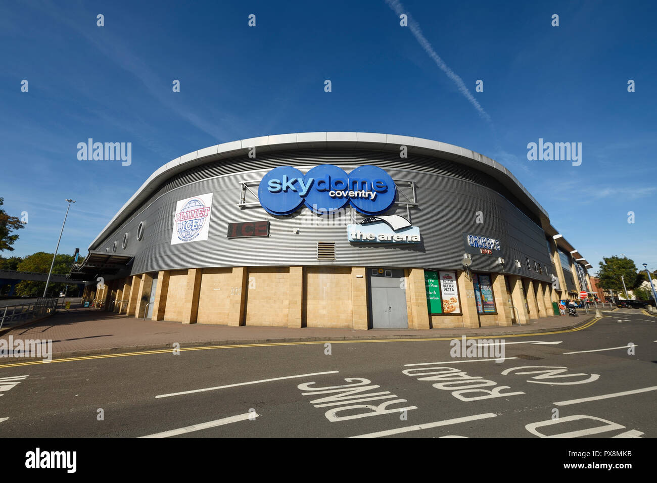 Exterior of Skydome Coventry on Croft Road in Coventry city centre UK - Stock Image