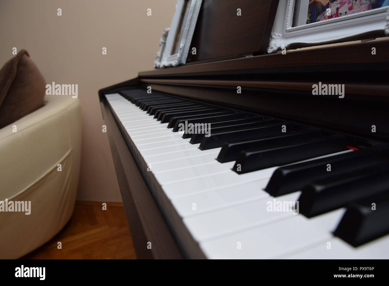 Piano Yamaha - Stock Image