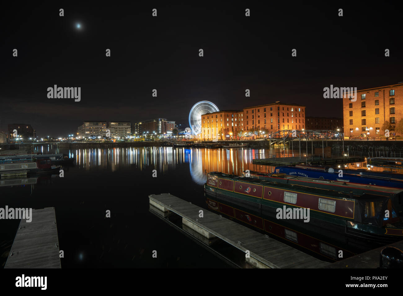 Albert Dock Liverpool - Stock Image