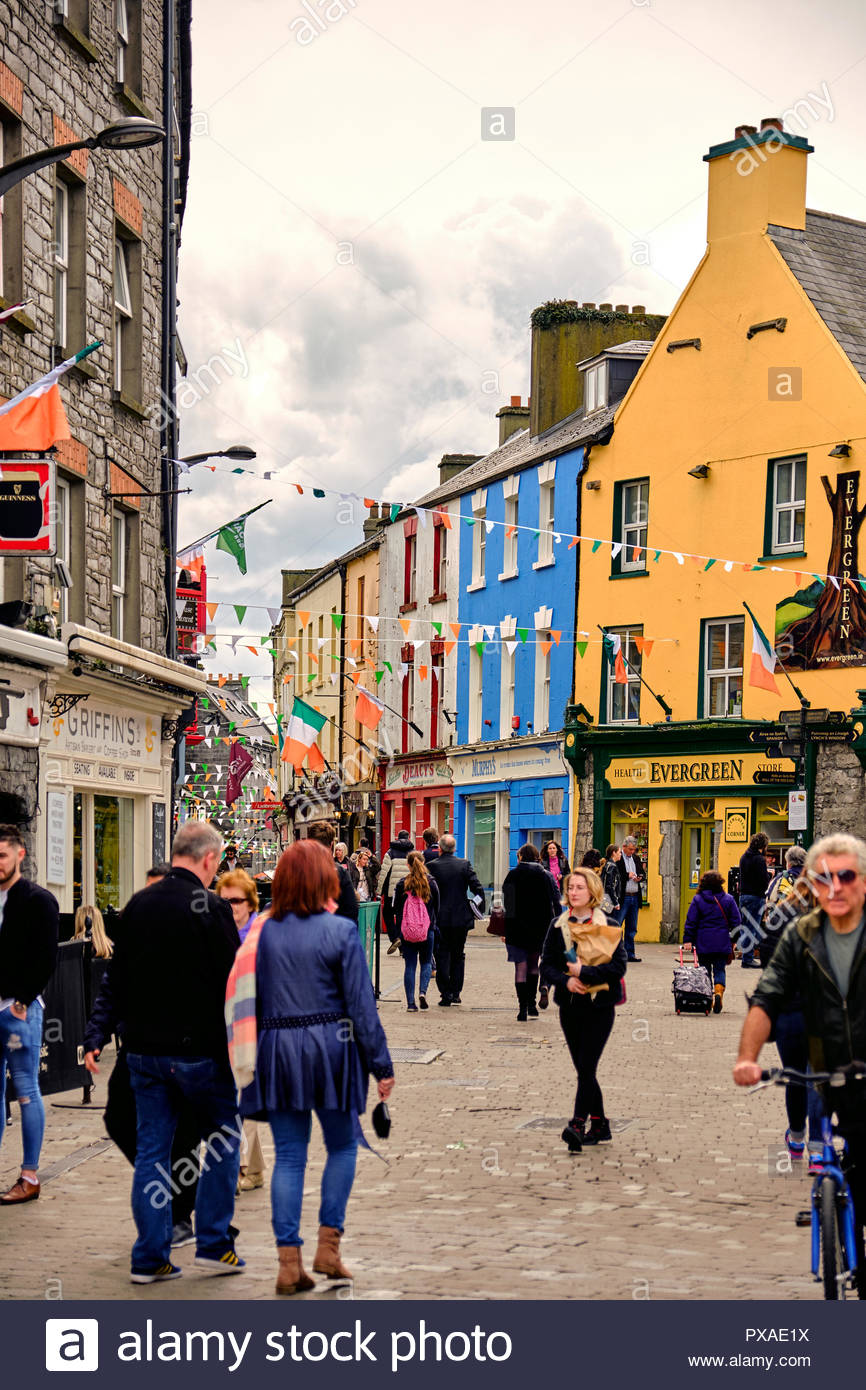 Fun area in downtown Galway!!! - Review of Quay Street