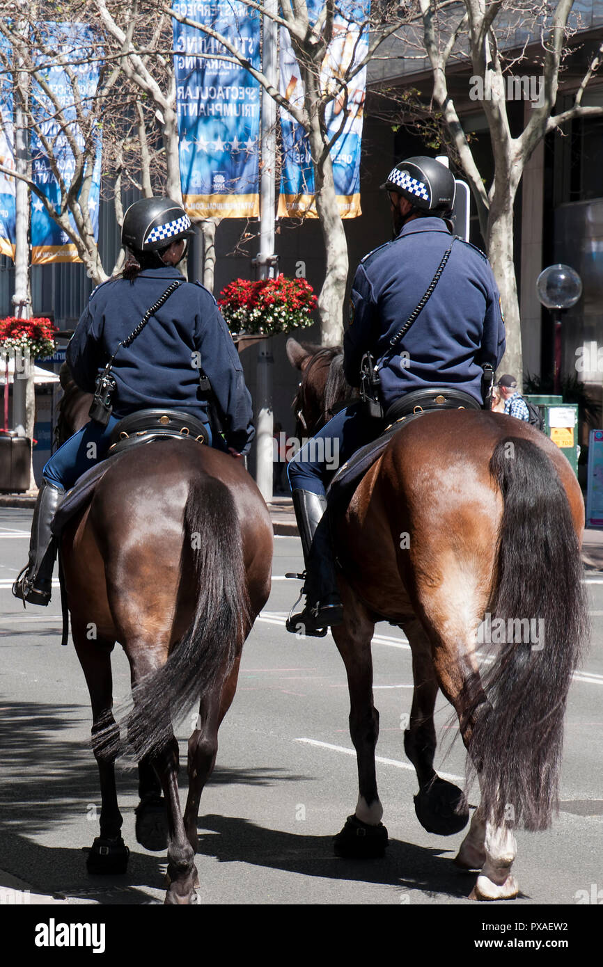 Police On Horses Stock Photos Amp Police On Horses Stock