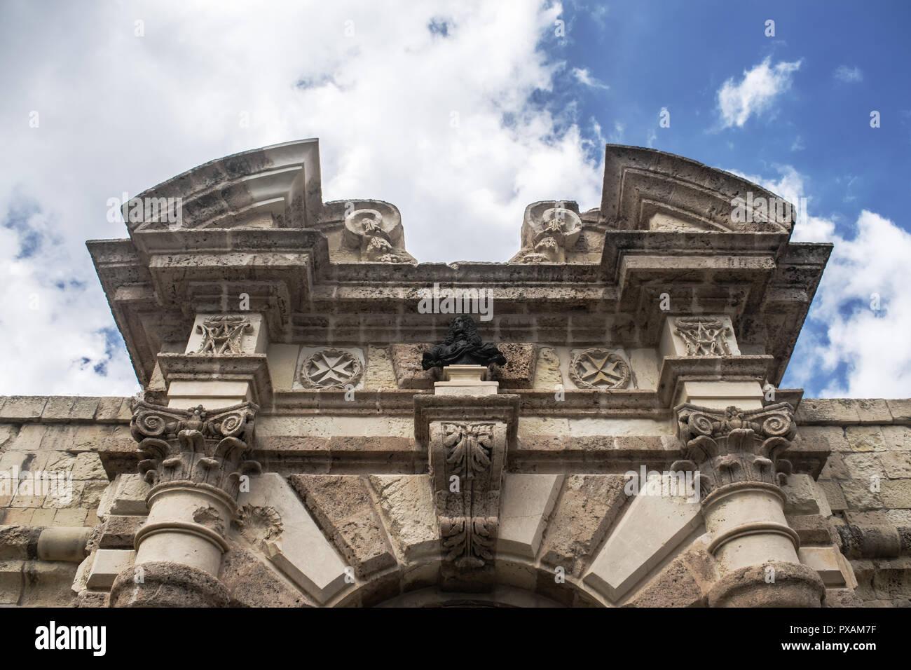 18th Century Gothic Architecture - Stock Image