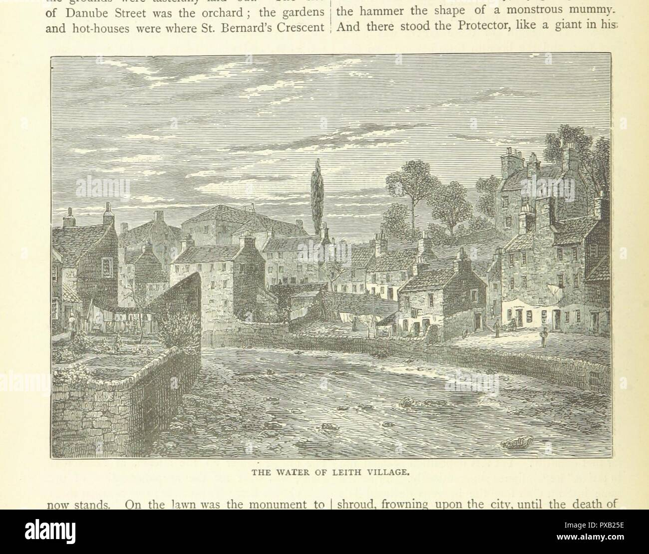 page 98 of 'Cassell's Old and New Edinburgh . Illustrated, etc' . Stock Photo