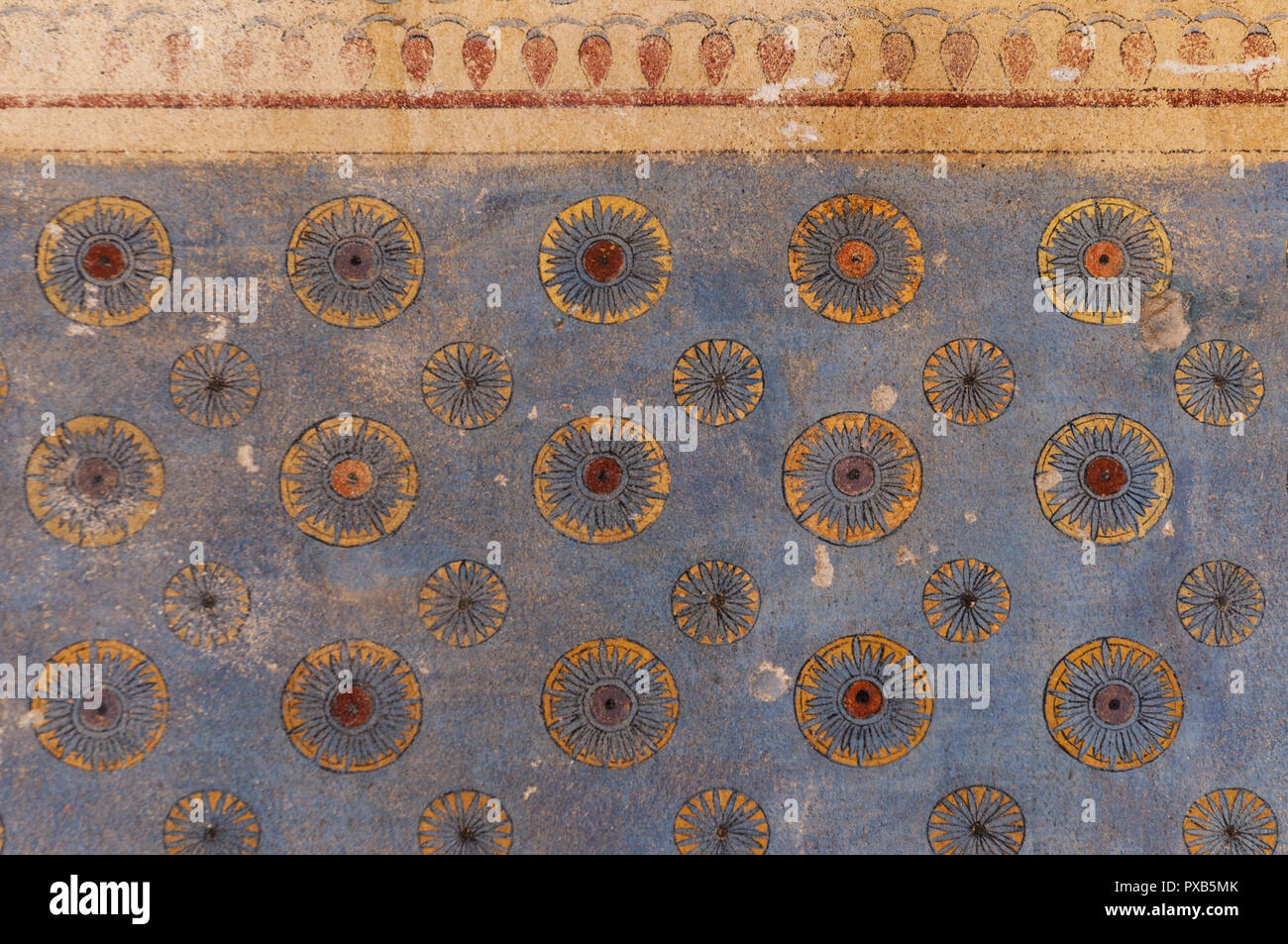Armenia, Yerevan, Erebuni Fortress, Erebuni Museum of History, painting display Stock Photo