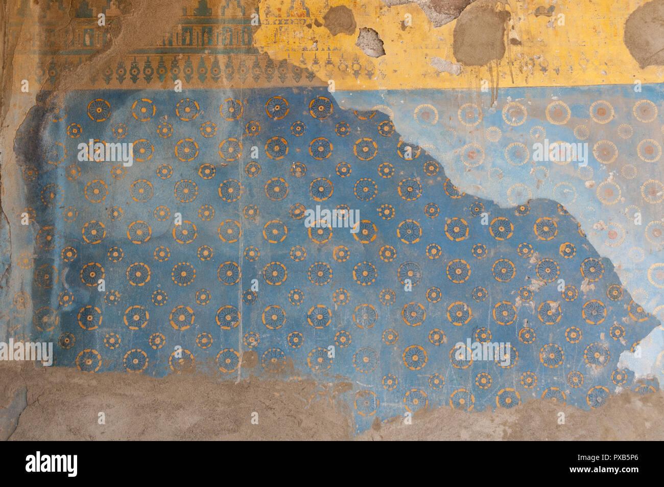 Armenia, Yerevan, Erebuni Fortress, Erebuni Museum of History, painting display Stock Photo