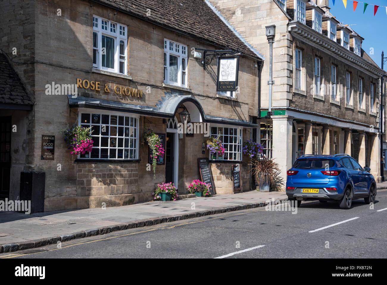 Oundle, Northamptonshire, England - Stock Image