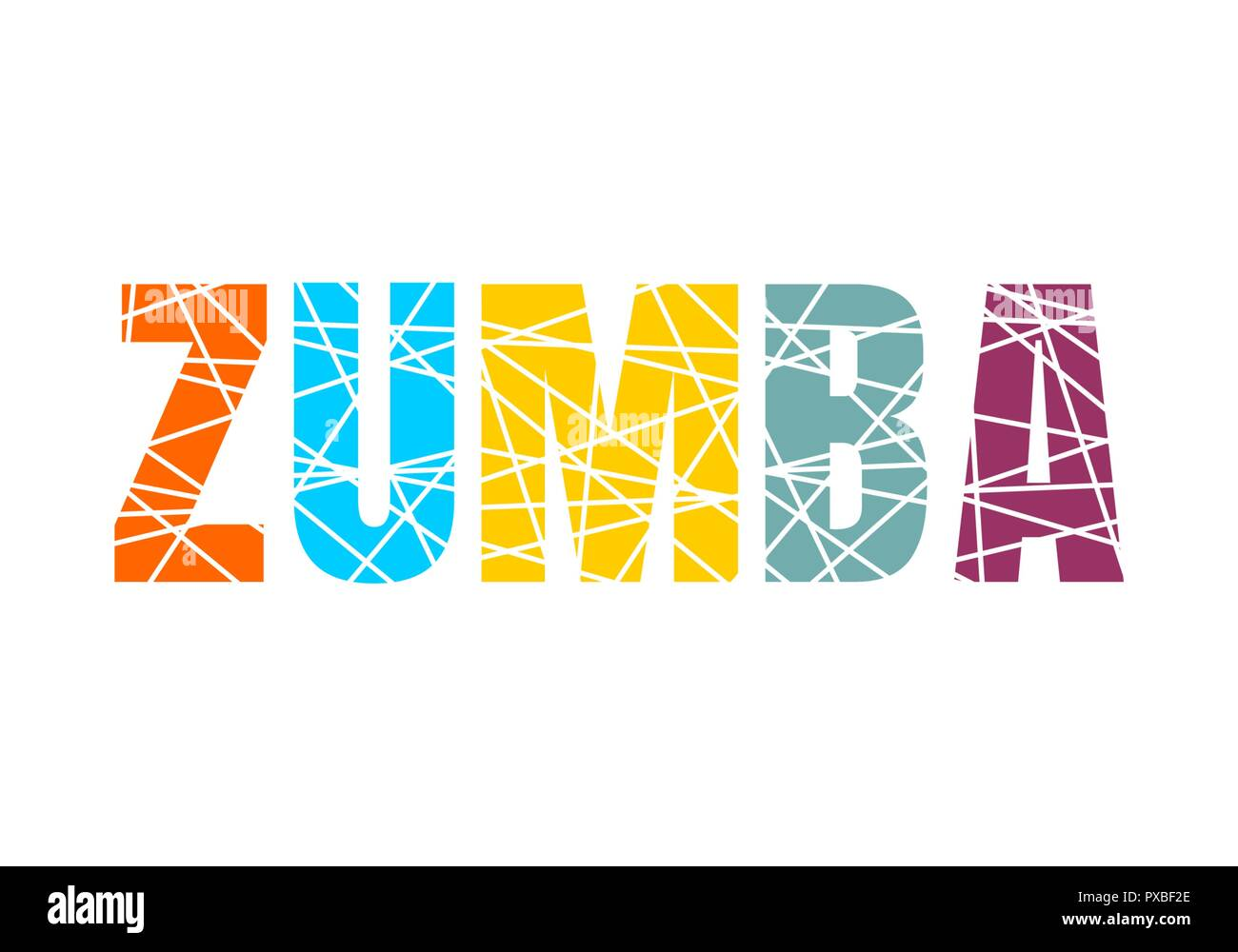 Zumba Cut Out Stock Images Pictures Alamy Best Dance Steps Diagram Downloads Illustration Image