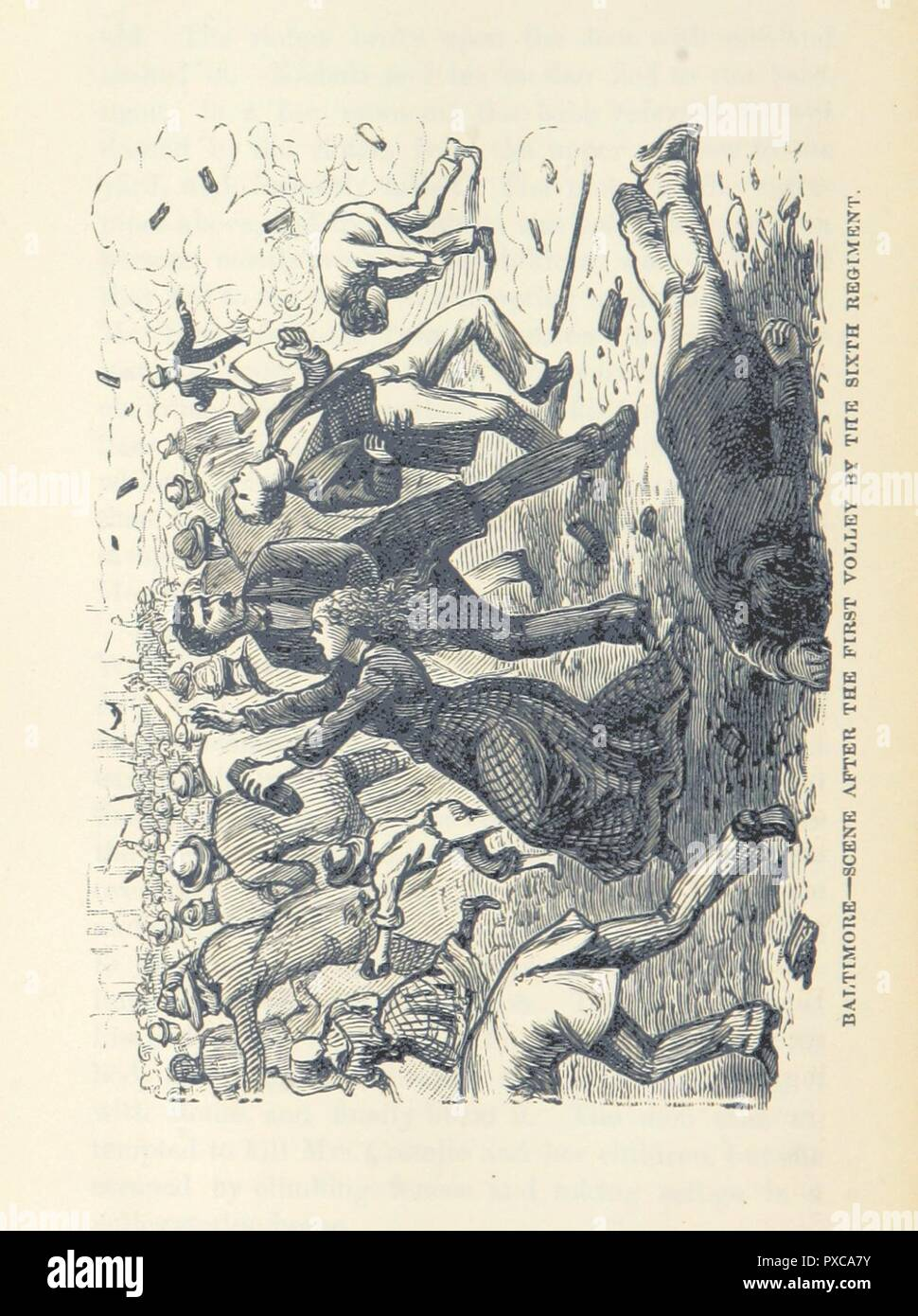 page 328 of 'Pen and Pencil Sketches of the Great Riots  An