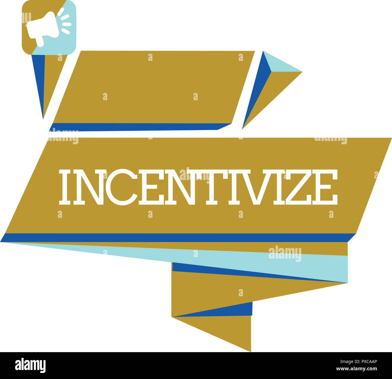 Word Writing Text Incentivize Business Concept For Motivate Or
