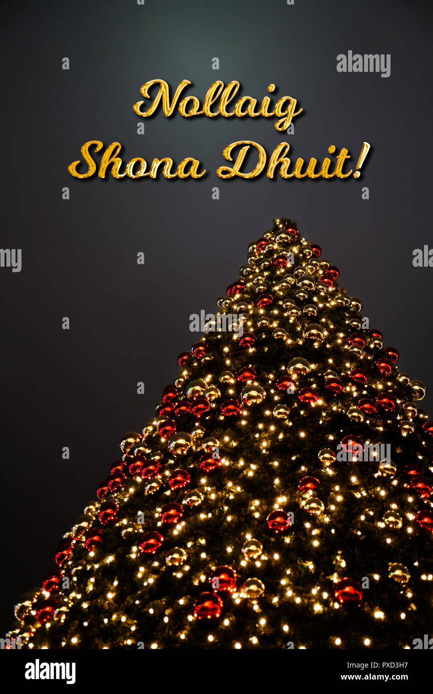 Nollaig Shona High Resolution Stock Photography And Images Alamy