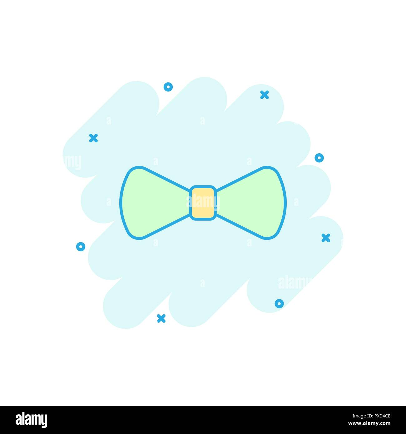 Bow Tie Vector Vectors Cut Out Stock Images Pictures Alamy Diagram Cartoon Icon In Comic Style Necktie Sign Illustration Pictogram