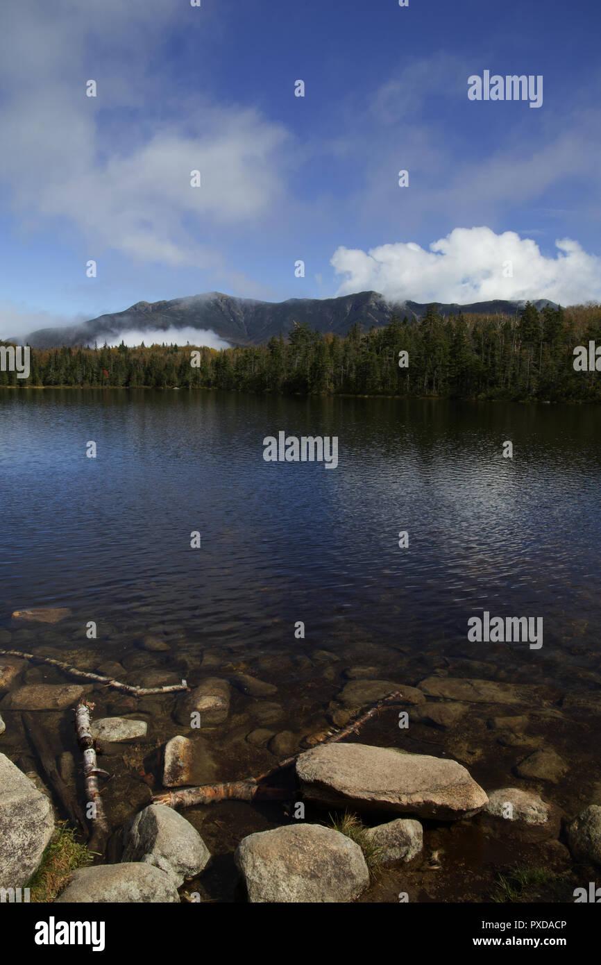 Lonesome Lake, New Hampshire Stock Photo