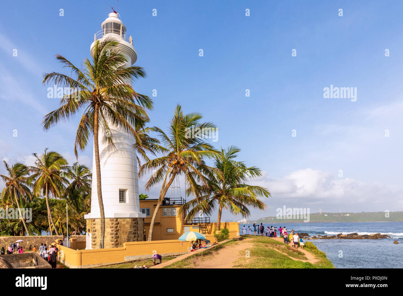 Galle Fort Architecture Stock Photos & Galle Fort
