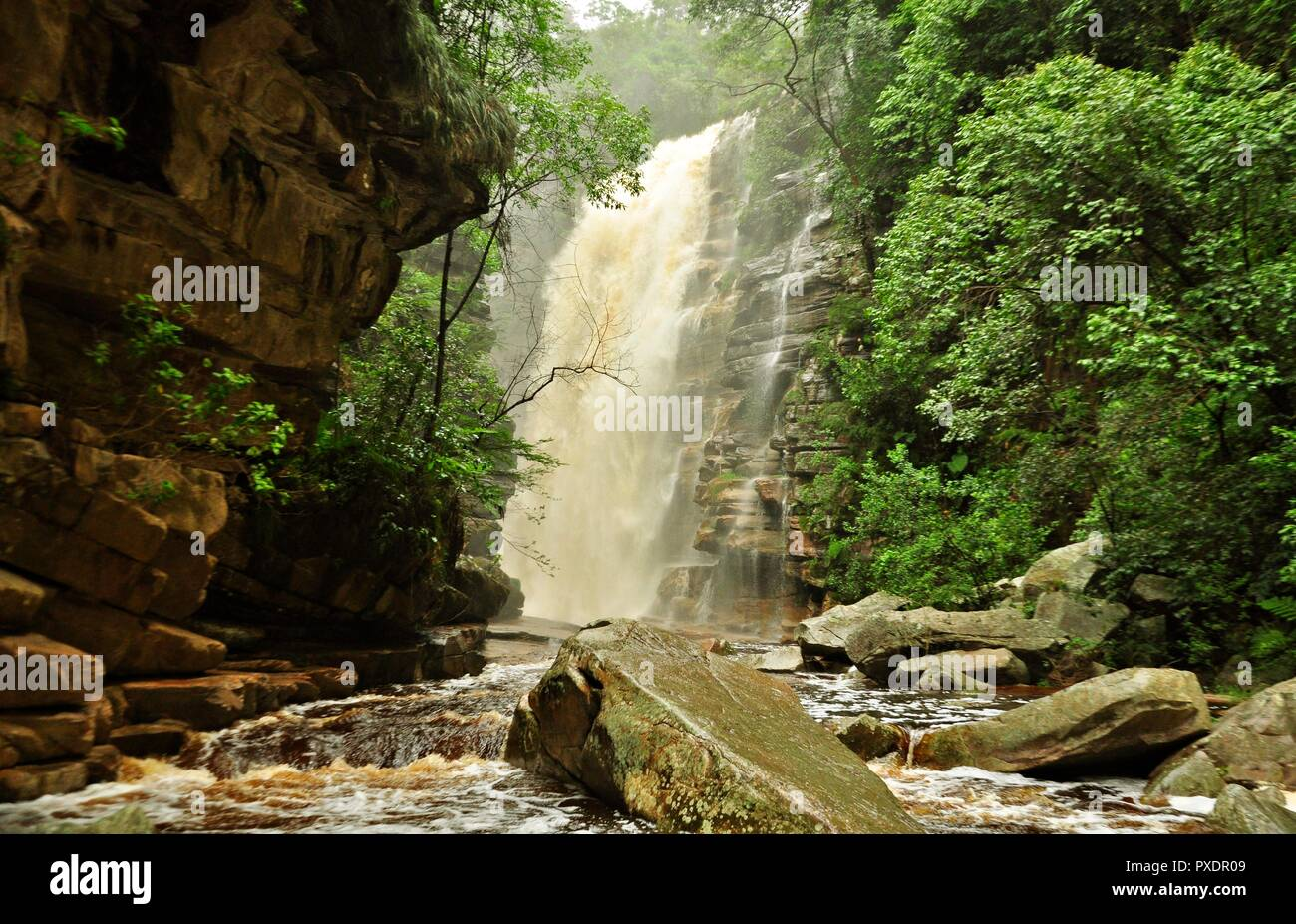 Cachoeira do Mosquito - Chapada Diamantina - Brasil - Stock Image