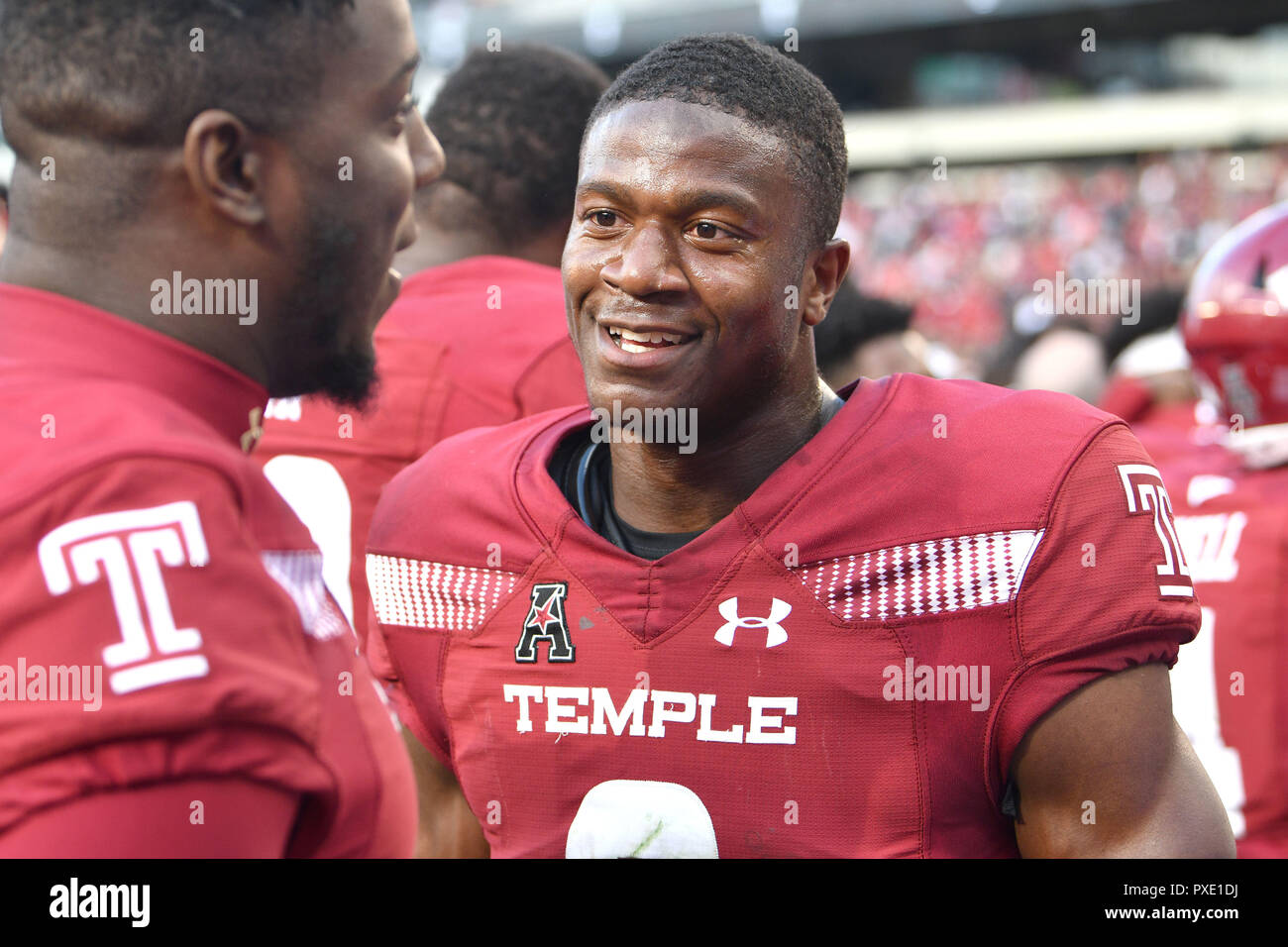 buy online a9ad7 6029f Philadelphia, Pennsylvania, USA. 20th Oct, 2018. Temple Owls ...