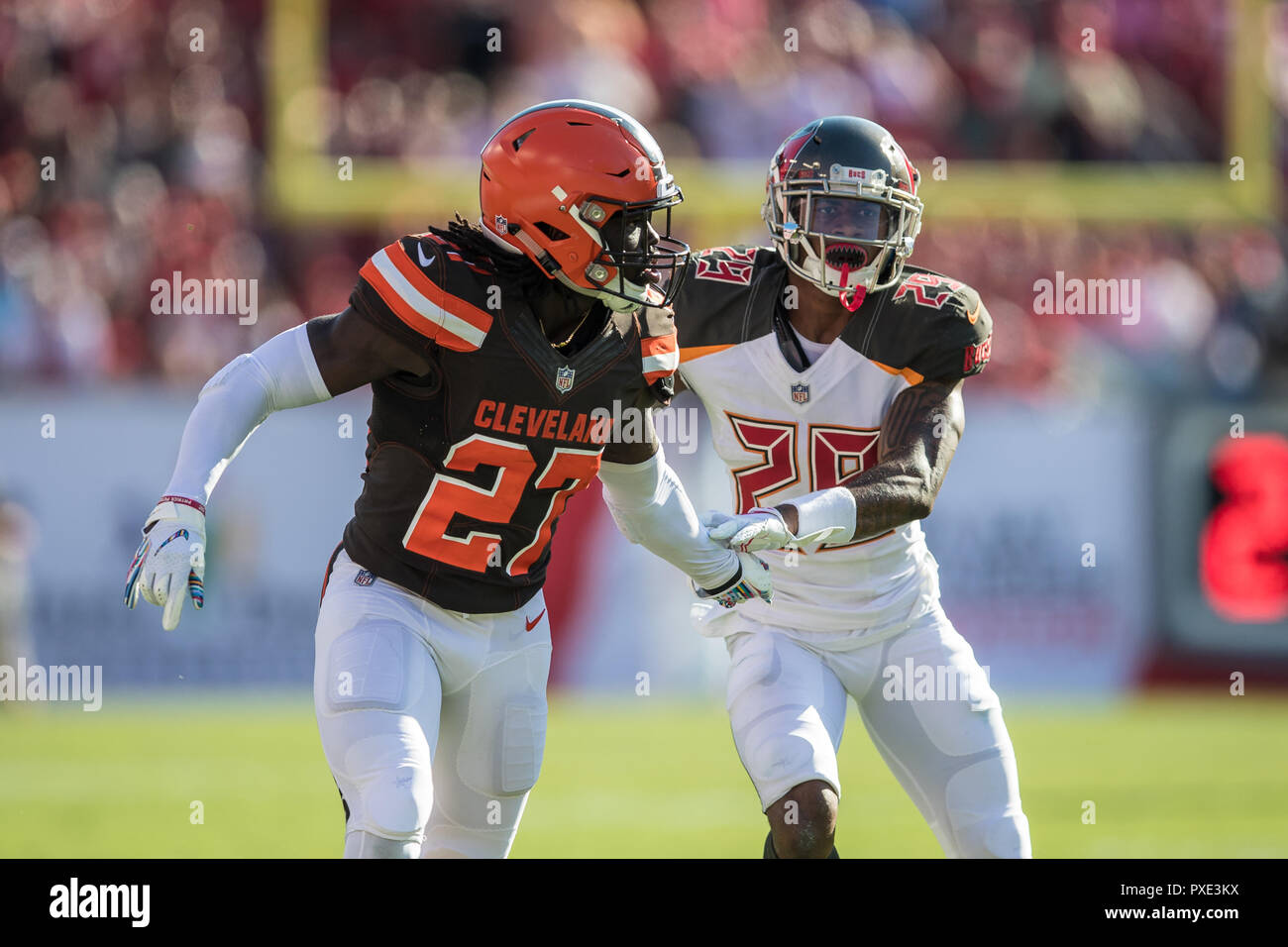 outlet store 68ddc ef64e Tampa, Florida, USA. 21st Oct, 2018. Cleveland Browns ...