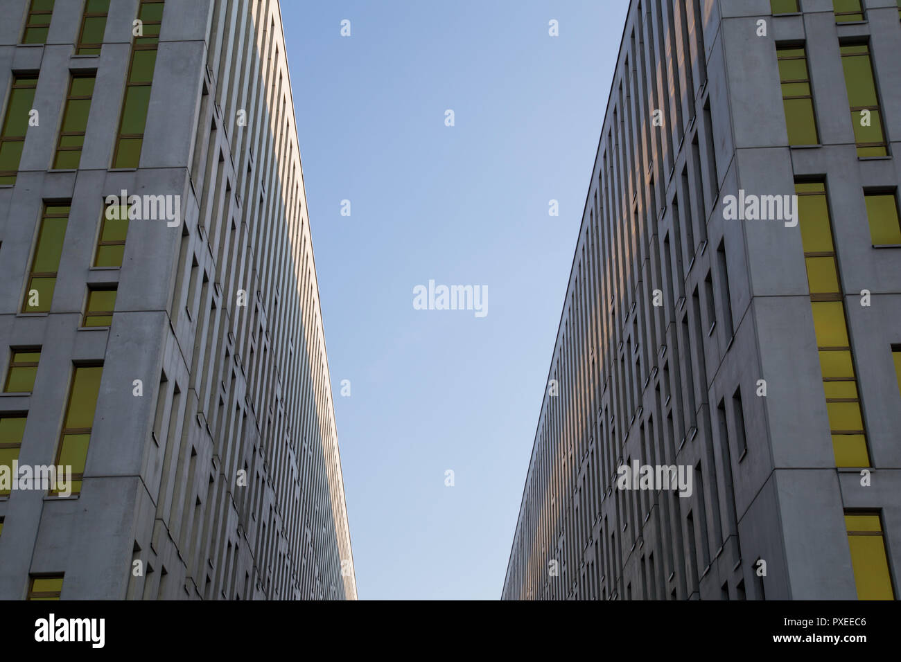Katowice, Poland: Silesia Star office buildings - Stock Image