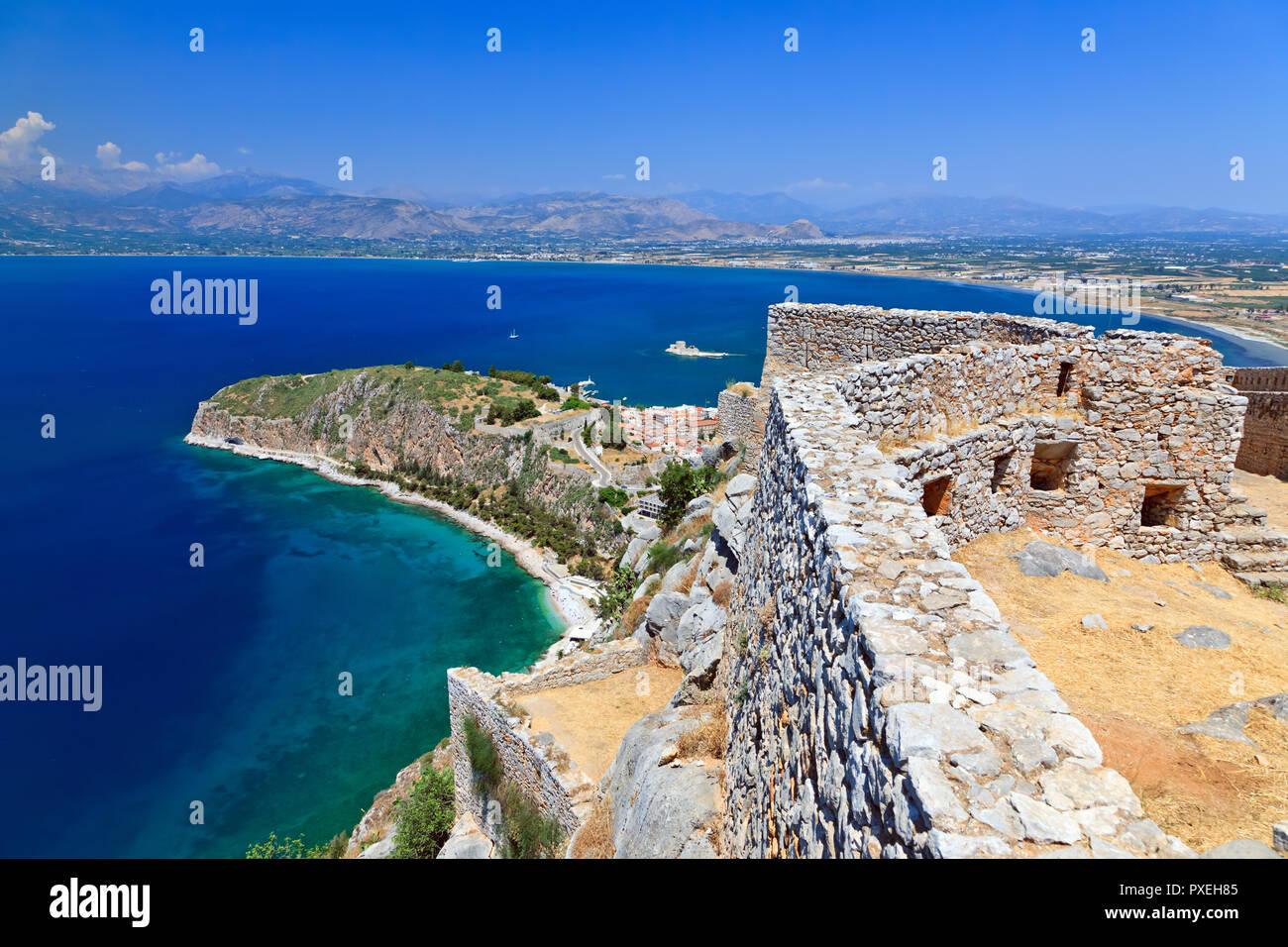 Palamidi fortress Stock Photo