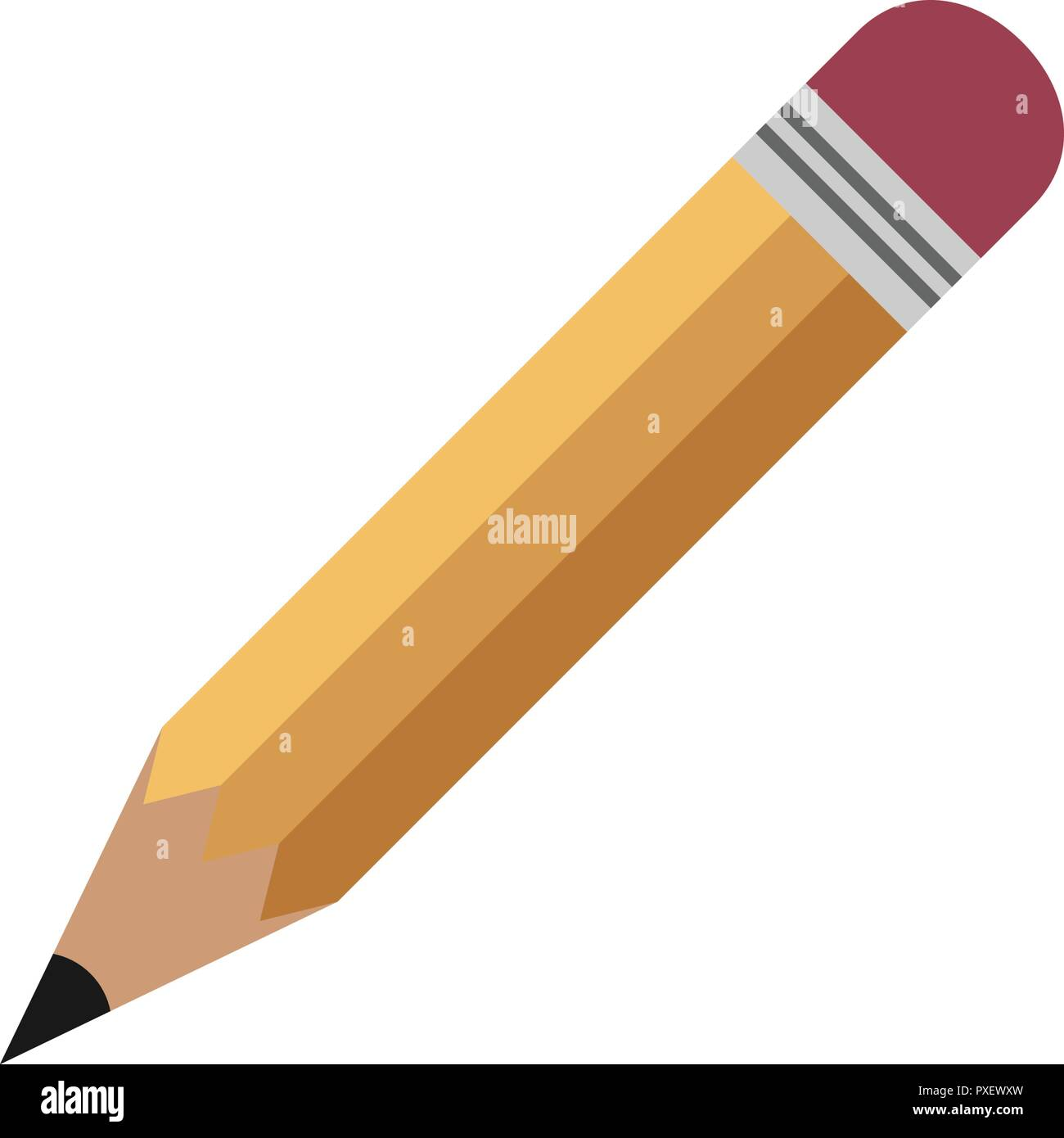 It is an image of Insane Pencil Template Printable
