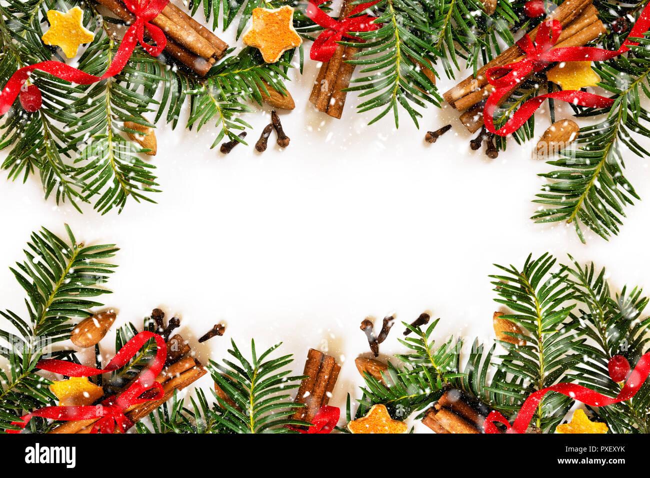 Weihnachtsbilder Tannenzweig.Christmas Border Stock Photos Christmas Border Stock Images Alamy
