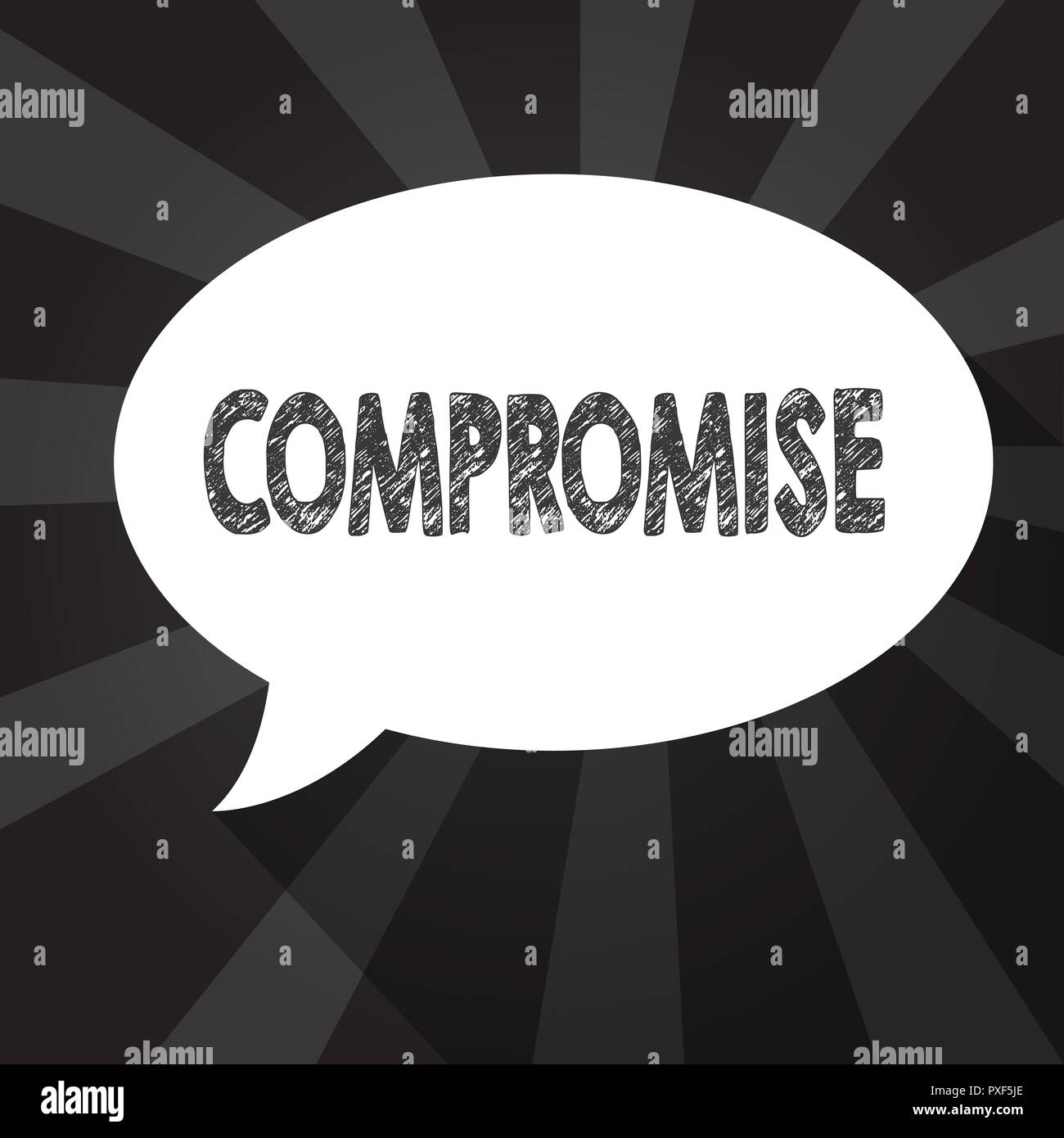 come to a compromise