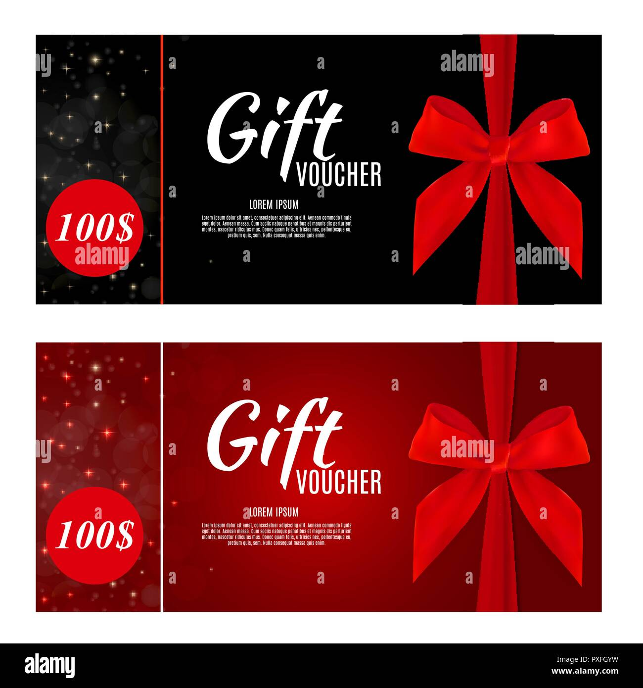 Luxury Members Gift Card Template For A Festive Gift Card Coupon