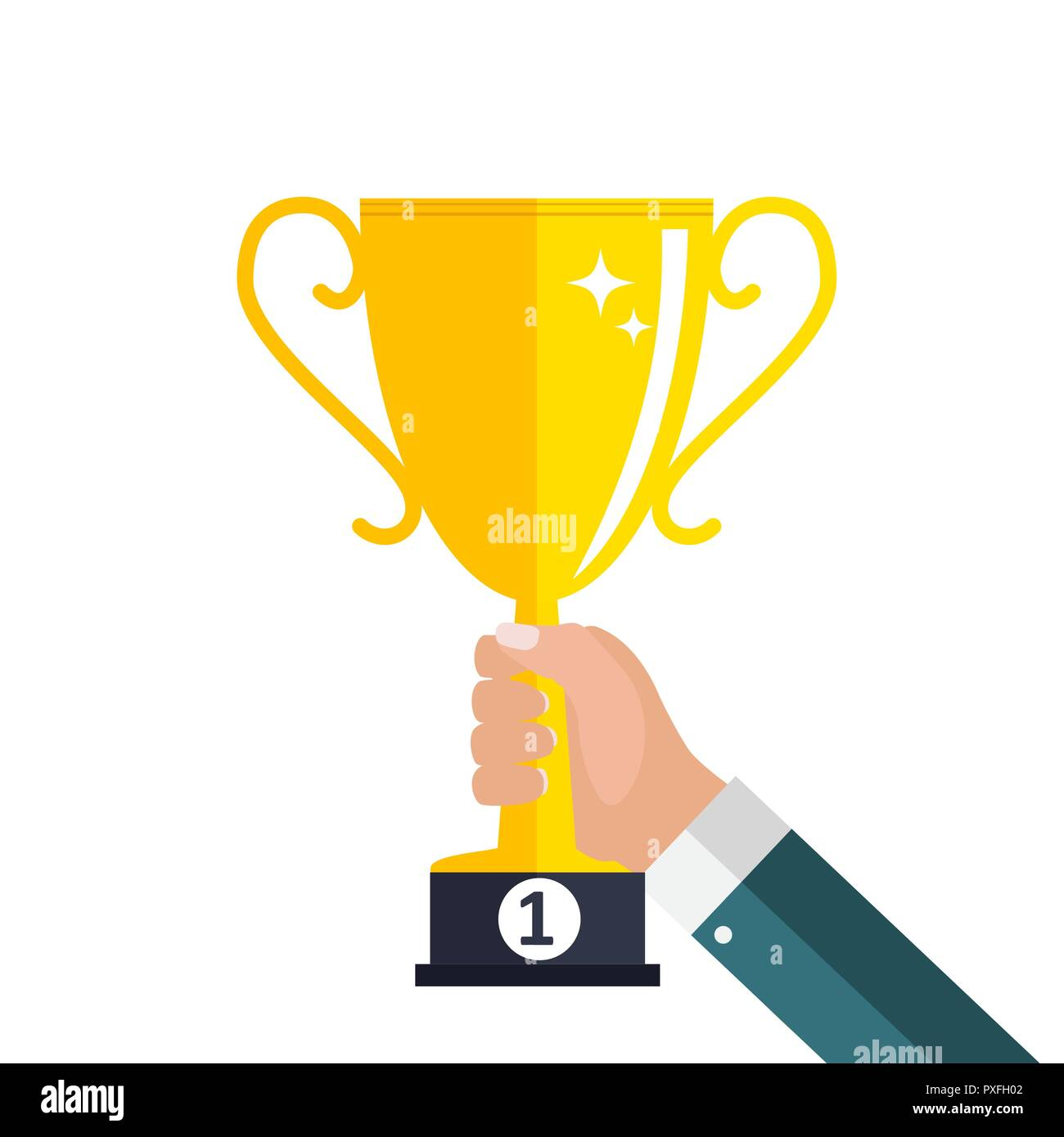 gold cup prize trophy winner icon stock vector image art alamy https www alamy com gold cup prize trophy winner icon image222848082 html