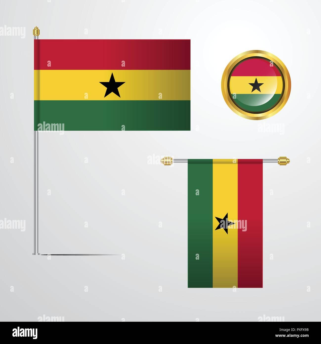 Ghana - Stock Vector