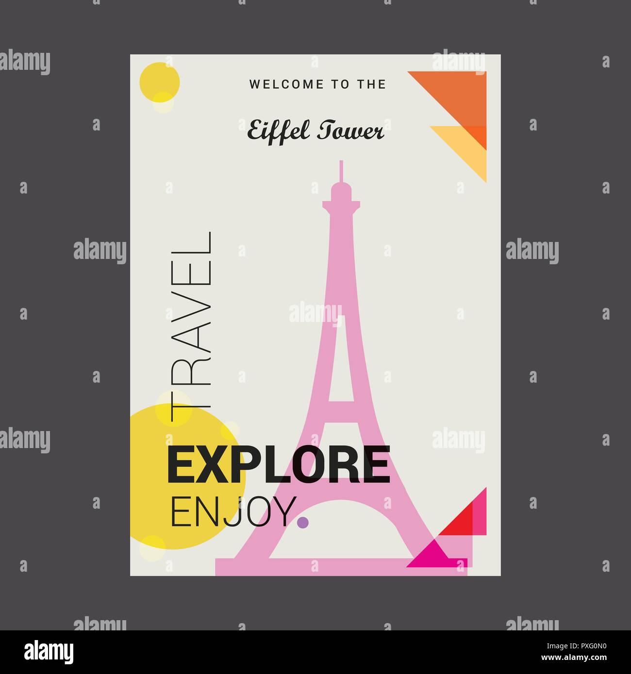 eiffel tower paris stock vector images alamy