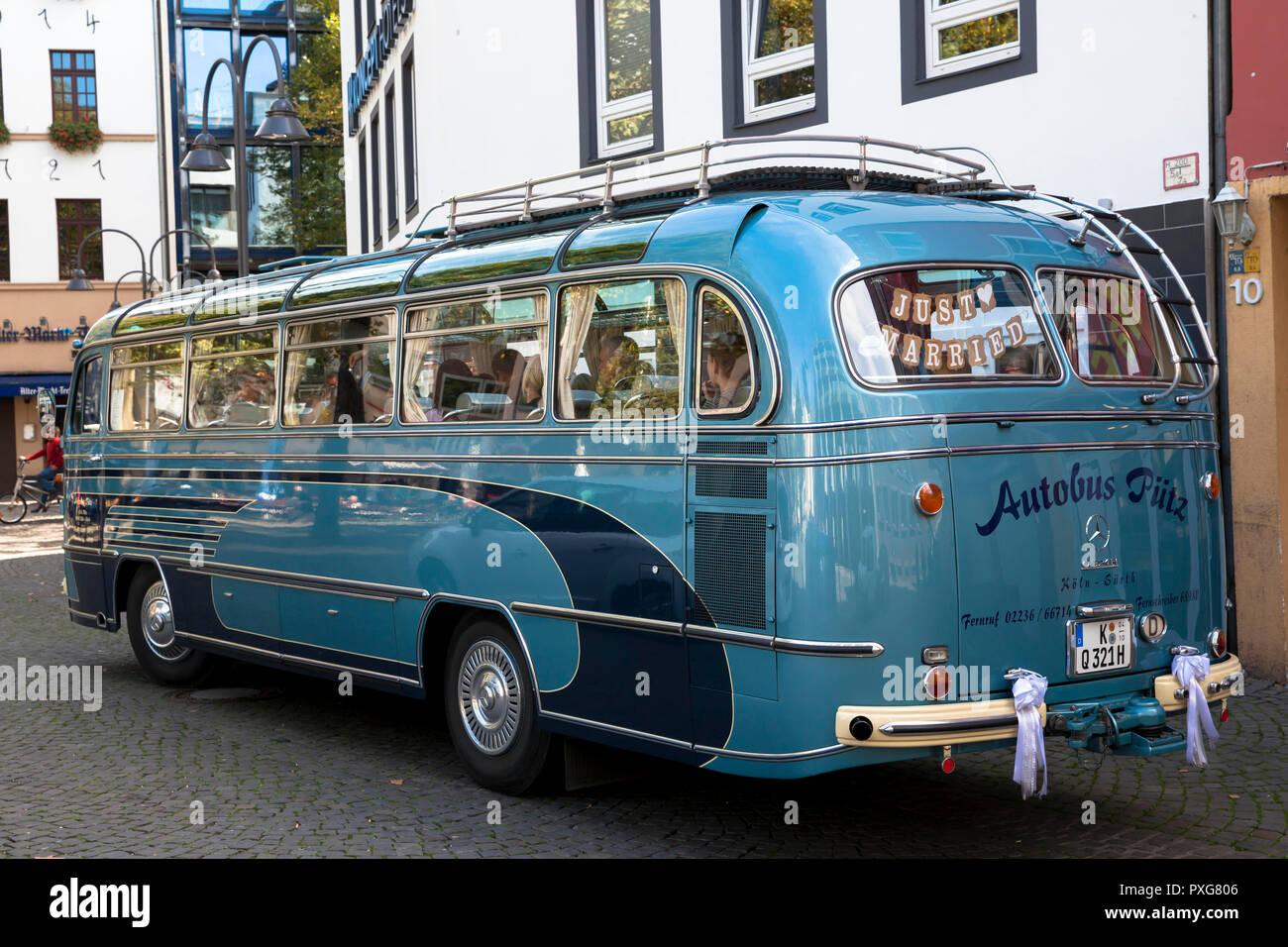 Mercedes Benz Oldtimer Bus Model O 321 H On The Heumarkt Booked For