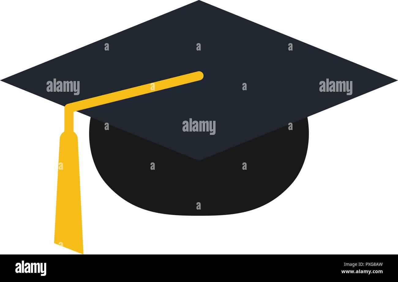 graduation cap logo icon design template vector stock vector art