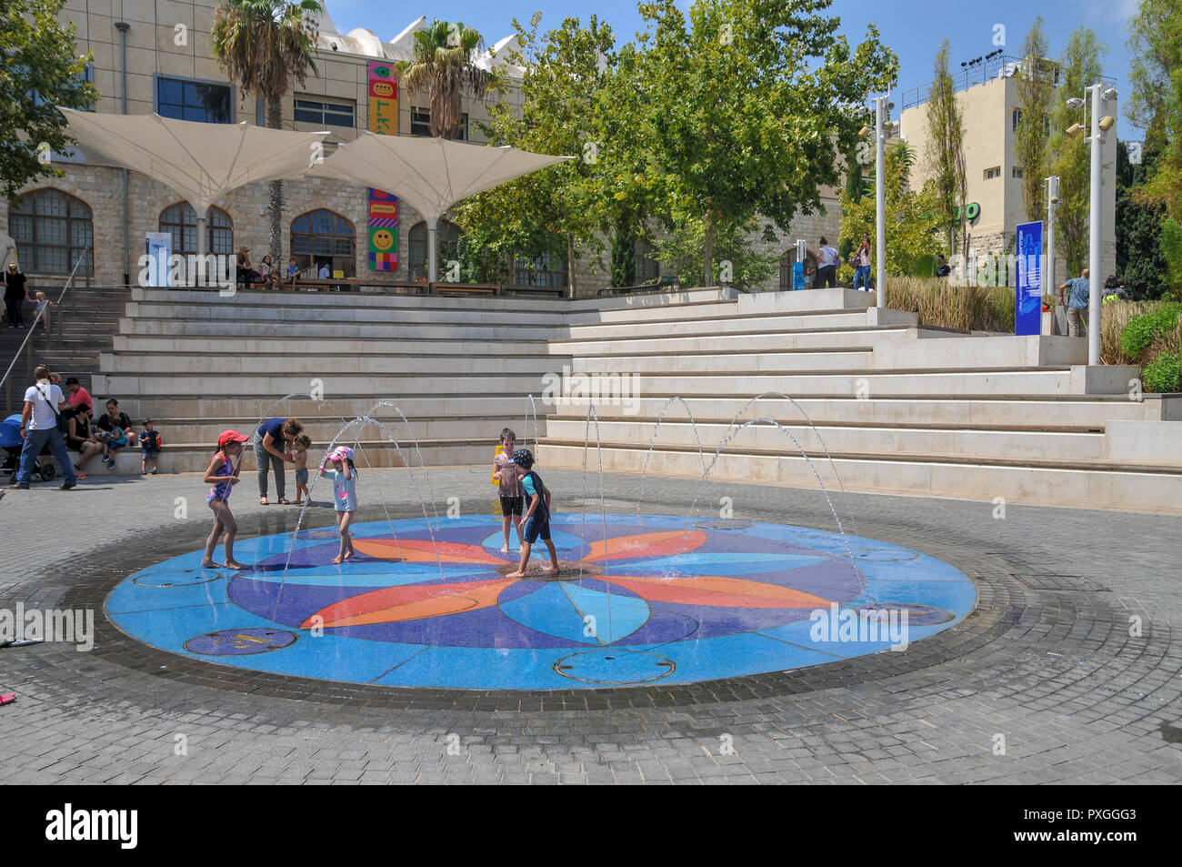 Madatech, Israeli National Museum of Science Technology and Space, Haifa, Israel Stock Photo