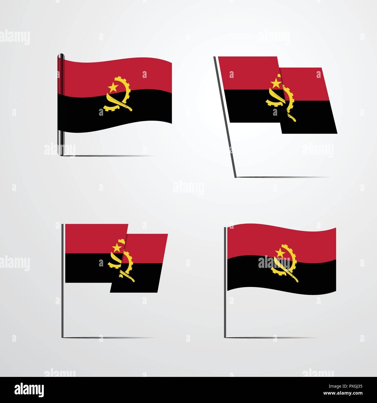 Angola - Stock Vector