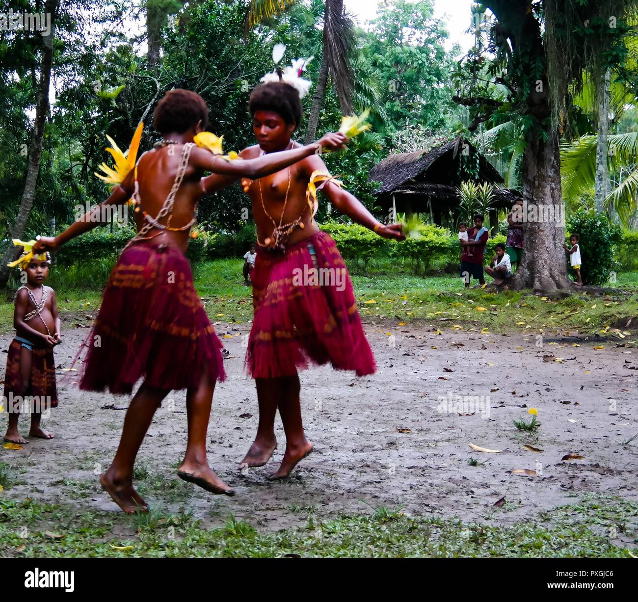 from Amari the girls of new guinea