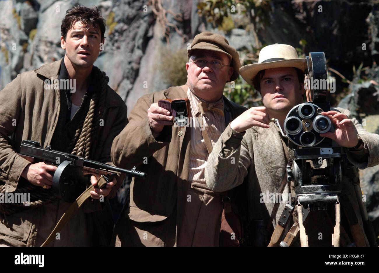 King Kong 2005 Regie Peter Jackson A Film Crew Filming A