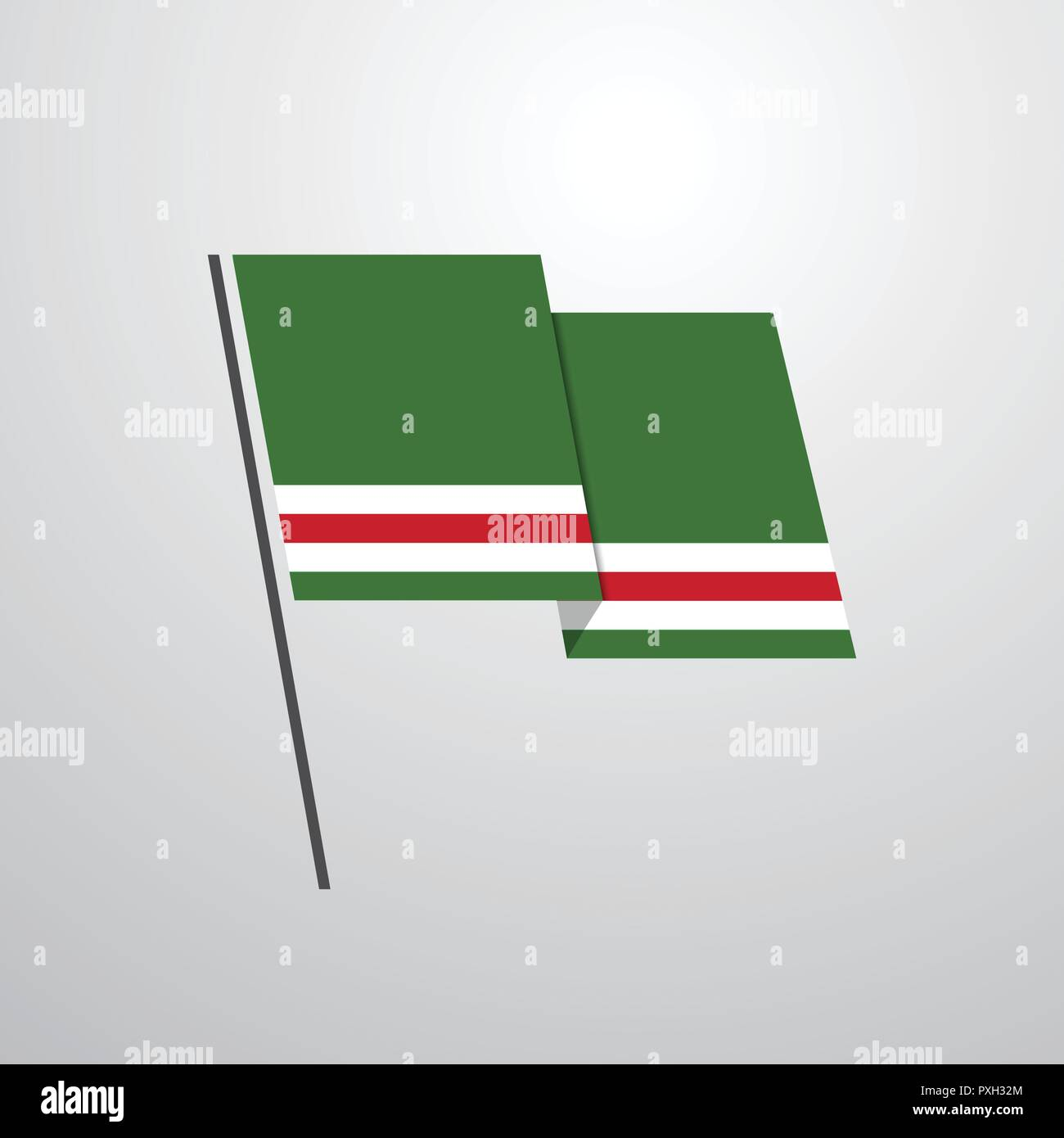 Chechen Republic of Lchkeria - Stock Image